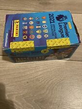 Panini Premier League stickers 2021 Sealed Box 100 packets