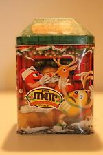 M&M's 2003 Limited Edition Reindeer Farm Sealed Candy Canister #16 Christmas Vil