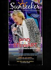 ALLEGIANT AIR SUNSEEKER MAGAZINE 5/6/2018 LAS VEGAS-ROD STEWART-ROUTE MAP A319