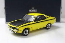 1:18 Norev Opel Manta GT/E Coupe yellow/ black 1975