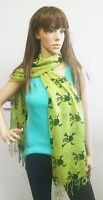 Skull and Bones Print Stylish Scarf Hipster, Boho, Hippie, Clearance Sale!