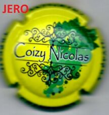Capsule de champagne Jeroboam Coizy Nicolas  Octobre 2021
