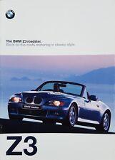 BMW Z3 Roadster Sales Brochure - February 1997 #