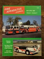 Fire Apparatus Journal Volume 7, Number 3, May-June 1990