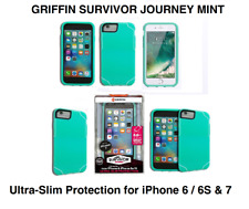 Griffin Survivor Journey Ultra Protective Slim Case for iPhone 7 Mint - Green