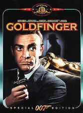 GOLDFINGER-SEAN CONNERY DVD