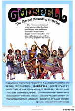 GODSPELL Movie POSTER 27x40 Victor Garber David Haskell Jerry Sroka Lynne