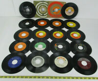 Lot of 20 Records 45 RPM Mixed Music Merle Haggard Priscilla Bobby Vee SKU I