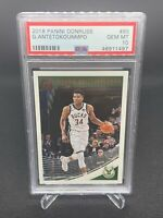 2018 Panini Donruss Giannis Antetokounmpo PSA 10 Low Pop