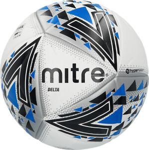 Mitre Delta Hyperseam Football Size 4, Size 5 x 5 balls