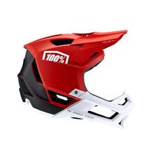 100% Trajecta Full Face Helmet X-Large Red