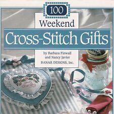 100 Weekend Cross Stitch Gifts Patterns HC Book Banar Designs Finwall Javler