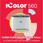 UNINET iColor 560 White Toner Printer + Pro Rip + Smart Cut ***FREE SHIPPING***