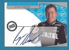 Ryan Newman - 2003 Press Pass Autographs #42 - AU
