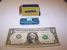 Matchbox / Lesney - Vintage Diecast Teal Chevrolet Impala #57