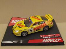 NINCO 50256 Porsche 911 4X4 German Rally #0 Pirelli P Zero Colucci 1:32 Slot Car