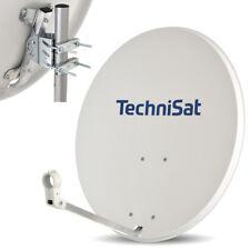 TECHNISAT 80 cm Satelliten SAT Spiegel Schüssel Antenne HD FULL HDTV 4K SKY grau
