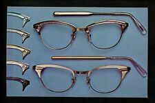 Optical Eye Postcard Advertising Gaspari Glasses Eyeglasses Dexter Chrome