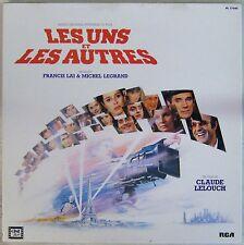 Les Uns les Autres Coffret 33 tours Lelouch Lai Legrand 1981