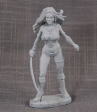 """Superior THE GIRL SONYA—RED SONJA—4"""" Metal Figure by Ray Lamb, NMint in Box 1978"""