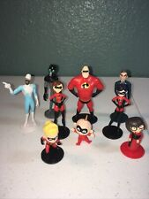Disney Pixar The Incredibles 3� Action Figures Great Set