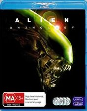Blu-ray Disc Alien Anthology 4 Movies 2 Versions of Each Sigourney Weaver 99c