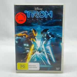 Tron: Legacy (DVD, 2010) Region 4 With Olivia Wilde In Good Condition