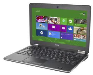 """Dell Latitude E7250 12.5"""" NOTEBOOK Laptop i7 5600U 2.6GHZ 8GB RAM 128GB WIN10P"""