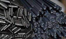 L'HDPE plastica di saldatura BACCHETTE inalazione NERO MIX 11pcs. Automotive, industrie dell' acqua