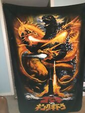 Godzilla 65th Anniversary Fleece Throw Blan 00006000 ket new in package