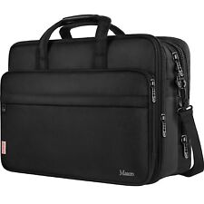 17 Pulgadas Laptop Bag, Large Business Briefcase For Men Women , Maletin Para...