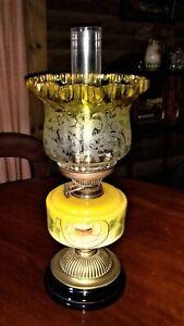 Antique English Table Lamp (circa 1880-original condition/a real collectable)