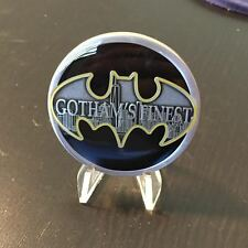 NYPD CHALLENGE COIN BATMAN GOTHAM'S FINEST BASEBALL TEAM Super Hero