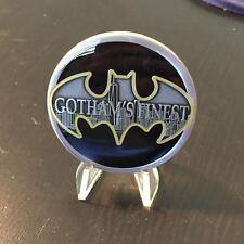 NYPD CHALLENGE COIN BATMAN GOTHAM'S FINEST BASEBALL TEAM Super Hero