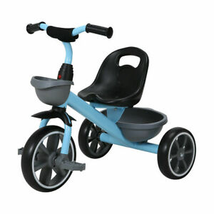 New Sturdy Safe Toddler Kid Tricycle Ride on Trike Seat Adjustment Gifts M1..