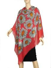 NEW GUCCI LADIES OVERSIZED MODAL LINEN DAISY PRINT SHAWL WRAP SCARF STOLE