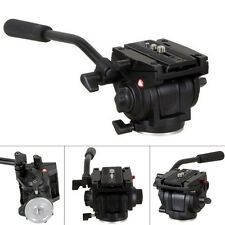 Lightweight 701HDV W/ 501PL QR Plate Pro Fluid Video Head for Manfrotto Tripod