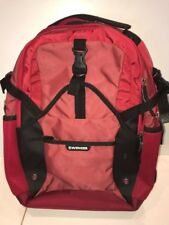 NEW Wenger Swiss Gear Red Carbon Computer Backpack