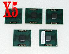 5 X Intel Core 2 Duo Mobile T8100 2.1 GHz Laptop Processor CPU  SLAYP