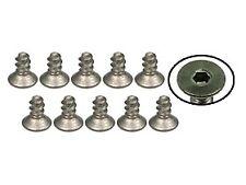 TS-FSM204S 3Racing M2 x 4 Titanium Flat Head Hex Socket - Self Tapping (10 Pcs)
