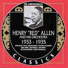 """HENRY """"RED"""" ALLEN & HIS ORCHESTRA: 1933-1935 (THE CHRONOLOGICAL CLASSICS CD)"""