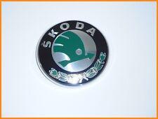 SKODA FABIA FELICIA OCTAVIA RAPID ROOMSTER EMBLEM / BADGE 80mm 1U0853621C - NEW
