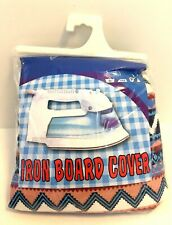 """Levy's House Ironing Board Cover 55"""" x 19.5"""" 100% Cotton Metallized with Foam"""