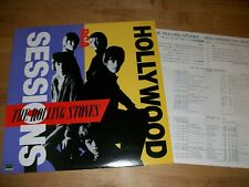THE ROLLING STONES Hollywood Sessions 1983 Japanese Pressing with Insert - NM