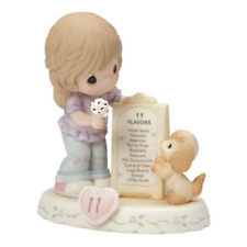 Precious Moments Growing in Grace Age 11 Brunette Figurine 154038B