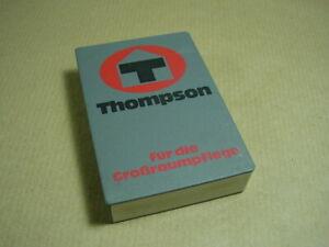 "Bielefelder Karten ""THOMPSON Großraumpflege"" Reinhard Mohn OHG Gütersloh"