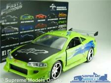 FAST & FURIOUS BRIAN'S MITSUBISHI ECLIPSE MODEL CAR 1:32 SCALE JADA 97609 K8
