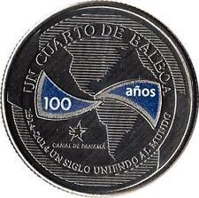 "Panama 1/4 Balboa 2016 ""100 years of the Canal"""