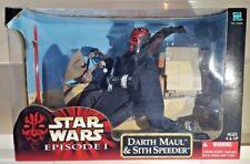 Hasbro Star Wars Episode 1 Wal-Mart Exclusive:12 inch DARTH MAUL w/ SITH SPEEDER