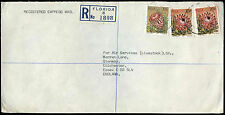 South Africa 1978 Registered Cover To UK #C33058